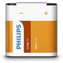 BATERIE PHILIPS 3R12, PLOCHÁ 4,5V