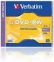 DVD+RW VERBATIM STANDARD KRABIČKA